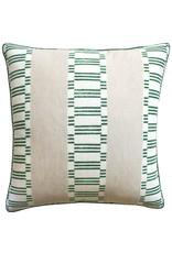 Japonic Stripe Emerald Green 22x22
