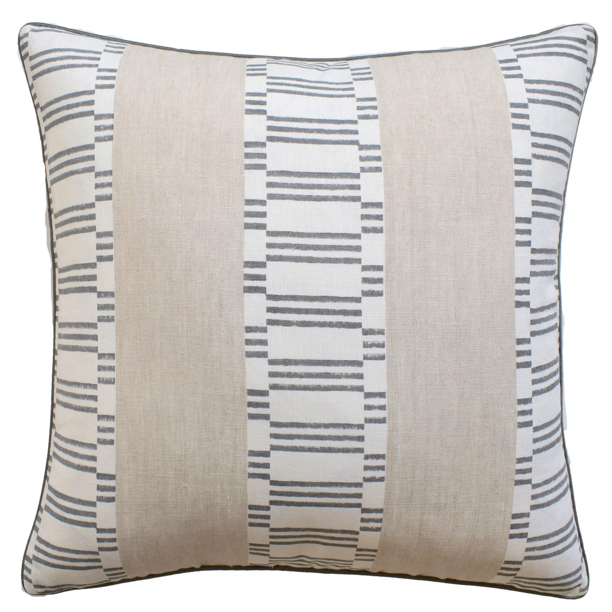 Japonic Stripe Grey 22x22