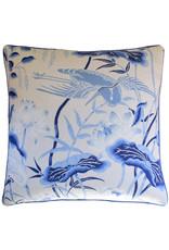 Lotus Garden Porcelain 22x22