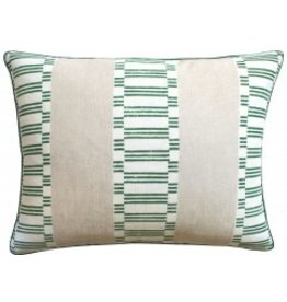 Japonic Stripe Emerald Green 14x20
