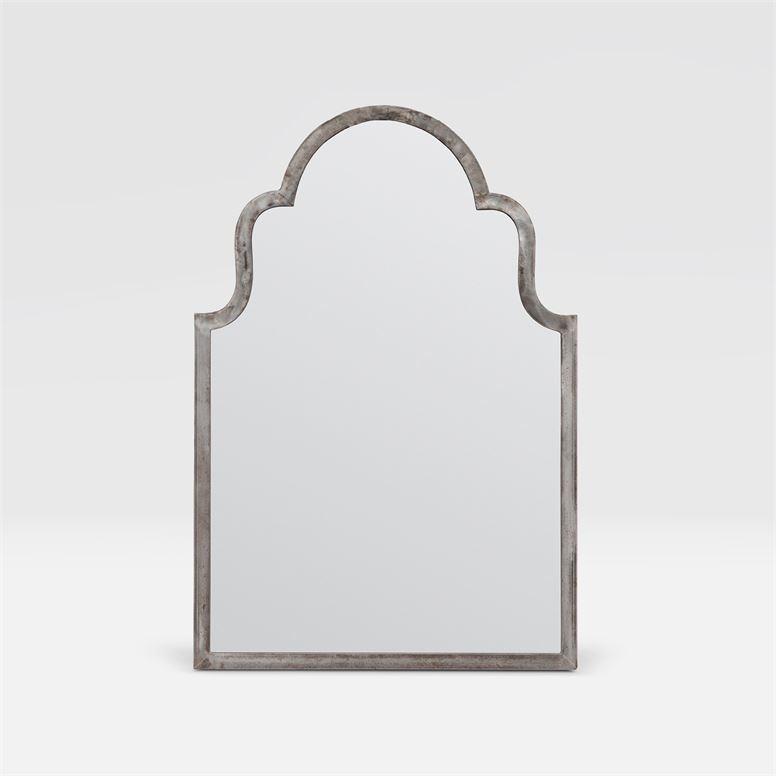 Bennett Aged Steel Metal Mirror 26''W x 38''H