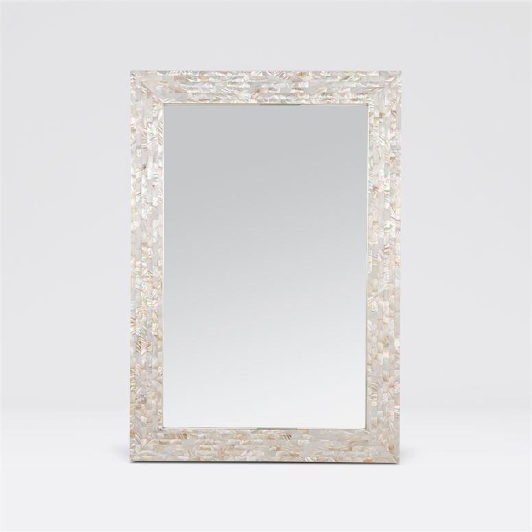 Colette Kabibe Shell Mirror 26''W x 38''H