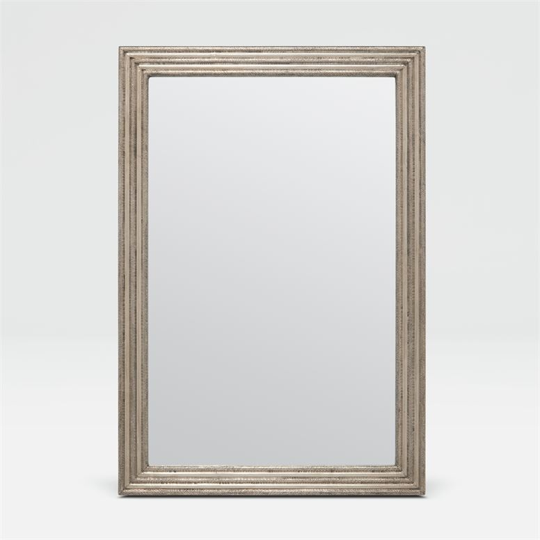 Jack Silver Metal Mirror 26''W x 38''H