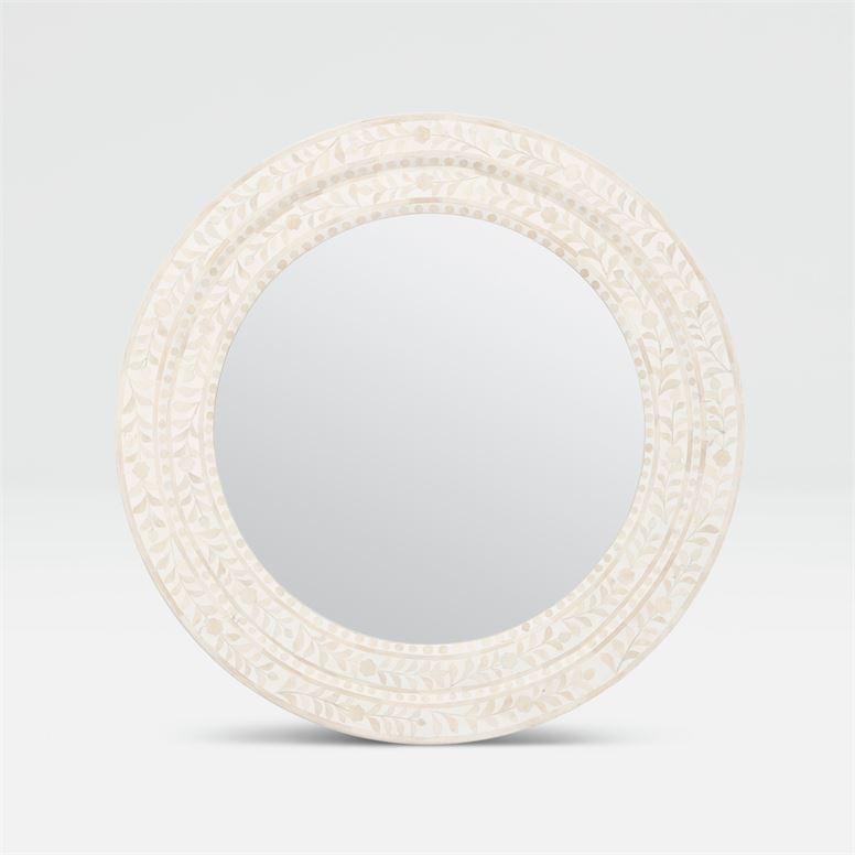 Lexi White Mirror 32''