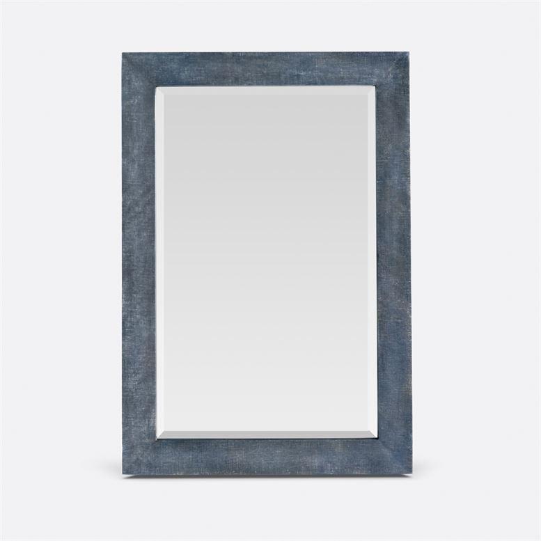 Zelena Metallic Denim Faux Linen 26''W x 38''H