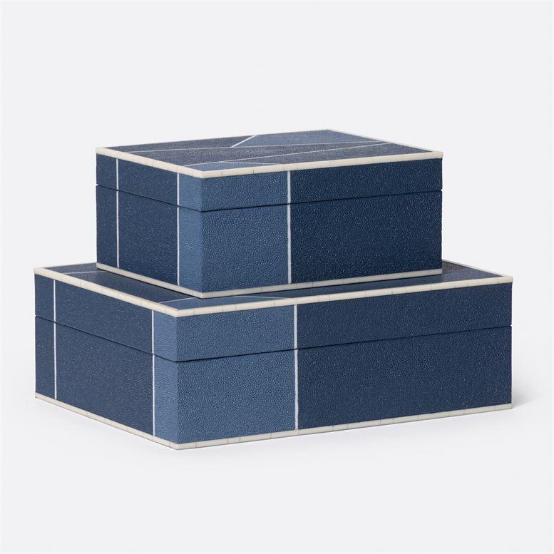 "Breck Mixed Navy Box Set 10""L x 13""W x 5""H"