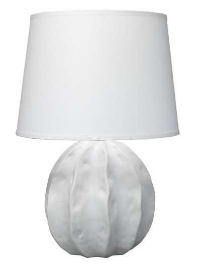 Urchin Table Lamp - White 25H/18D