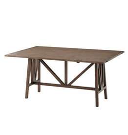 Dakota Wooden Dining Table 65W 44D 30H