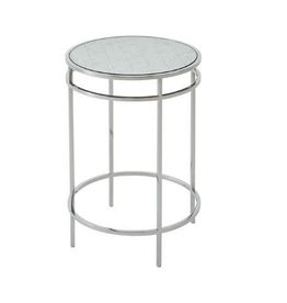 Barton Side Table  23H 16.25DIA