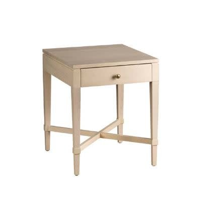 """MAPLE AVA SIDE TABLE D26 1/2"""" x W21"""" x H25 1/2"""""""
