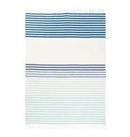 Mattonelle Cobalt Blanket 75x51