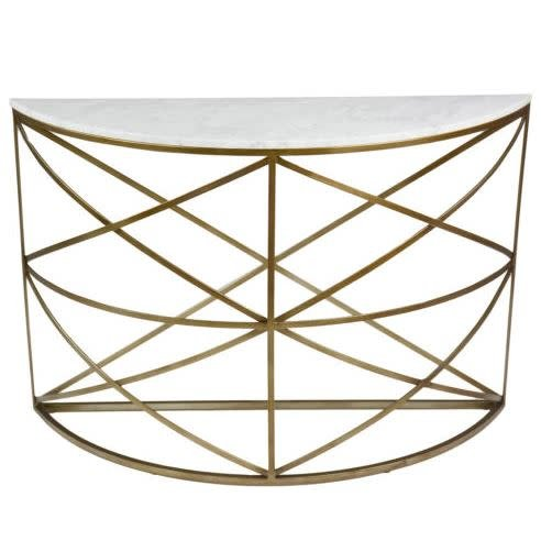 Gibson Console Table 47W 15D 31.75H