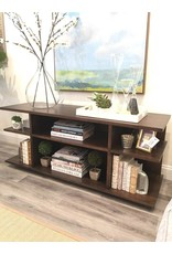 """Maple Thompson Media Stand 60""""W 20""""D 25 1/2""""H"""