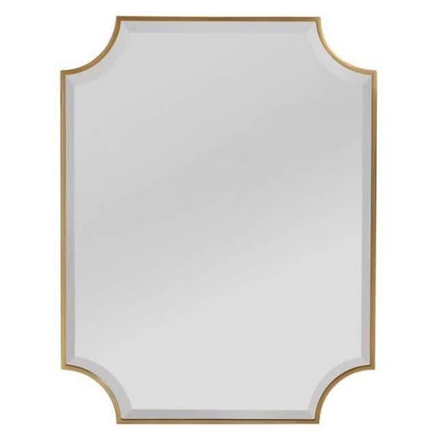 Five Eleven Mirror in Murcielago Brass 30W 39H