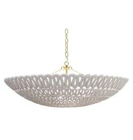 Pipa Bowl Silver 35.5D12H