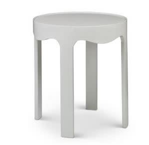 Patton Side Table - Oyster 24W 24W 27.25H