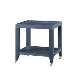 Isadora Tea Table Navy 16.5Wx13Dx18H