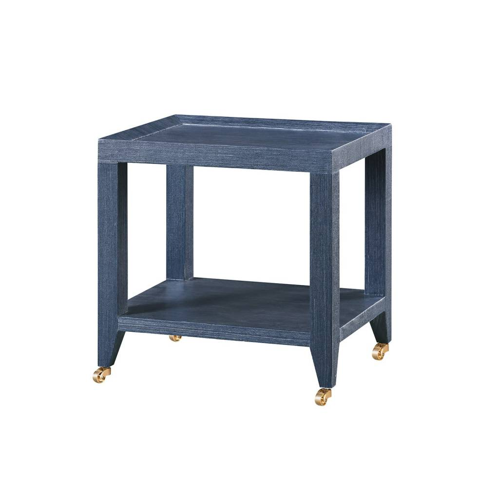Isadora Tea Table Navy 16.5Wx13Dx18H