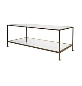 Taylor Bronze Rectangular Coffee Table