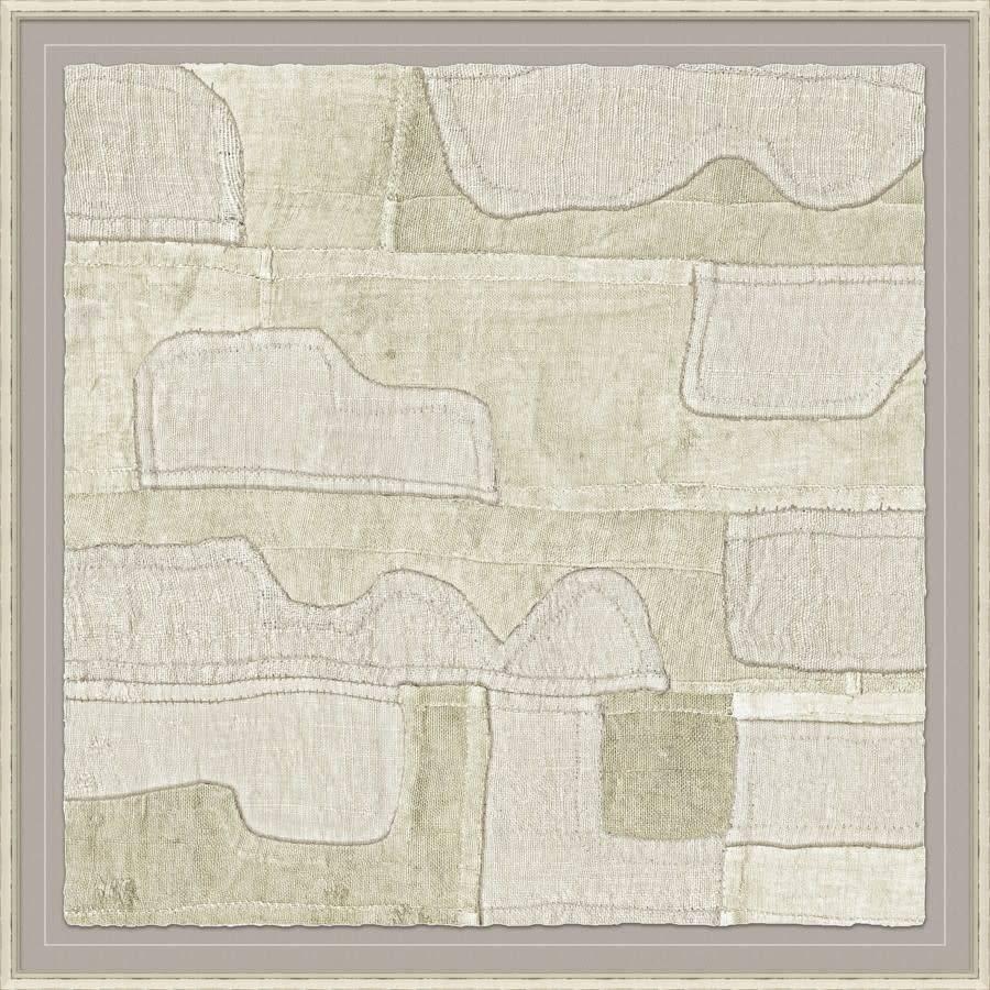 Pale Kuba Cloth - 41.25x41.25