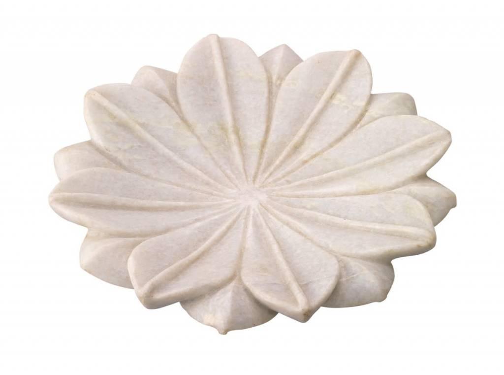 Lotus Marble Plates - Medium