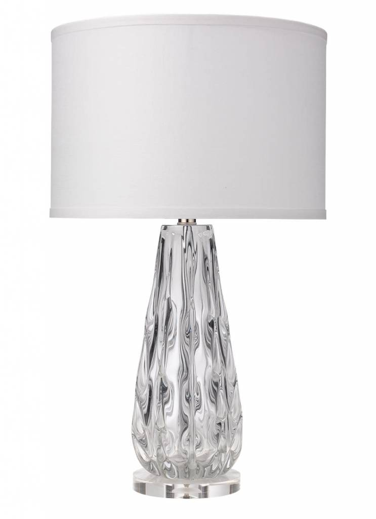 Laurel Table Lamp - Clear