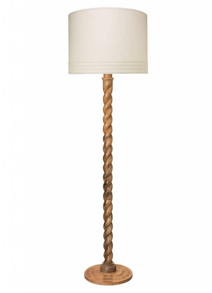 Barley Twist Floor Lamp Natural Brook Taylor Interiors