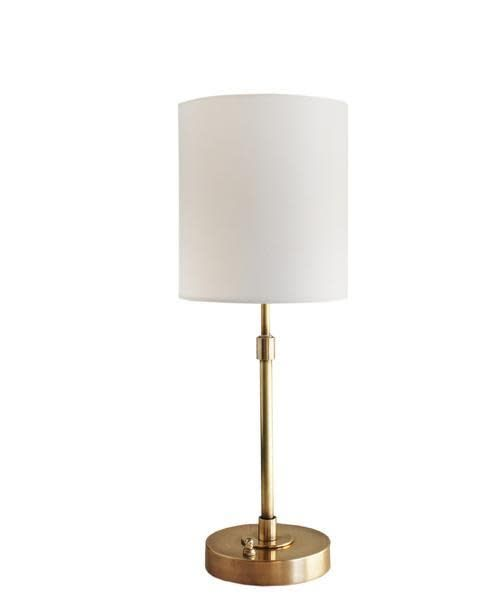 "Annapolis Table Lamp - Antique Brass 20""h x 8""w"