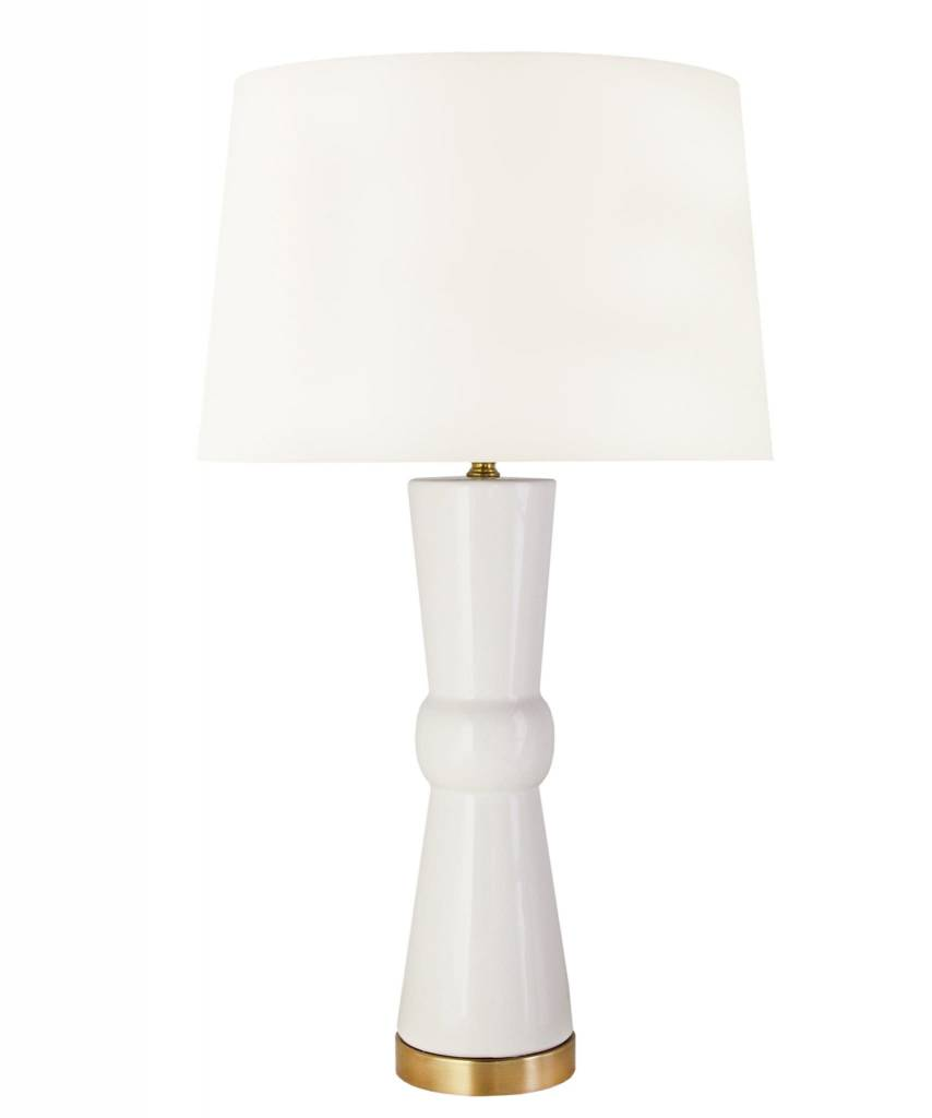 "Edmonds Table Lamp - White 28""h x 15""w"