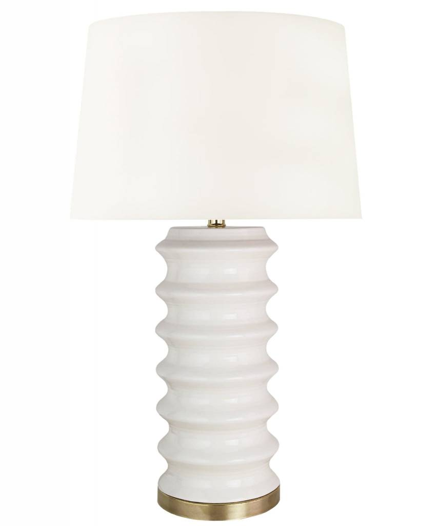 "Richmond Table Lamp - White 28.5""h x 16""w"