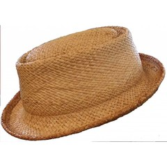 Shady Brady Pork Pie, Raffia, 2nd Quality, Shady Brady