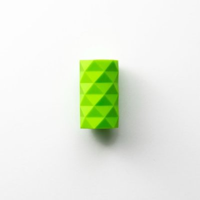 GIR Get It Right Silicone Stopper Fractal Tower Lime