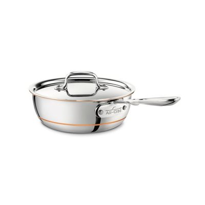 All-Clad All-Clad 2-Qt Copper Core Saucier