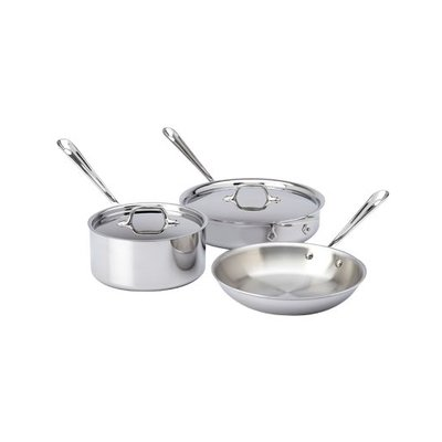 All-Clad All-Clad 5-Piece Stainless Set