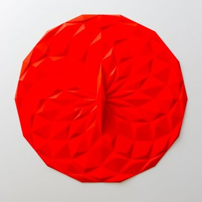 "GIR Get It Right Silicone Round Lid 12.5"" 318mm Red"