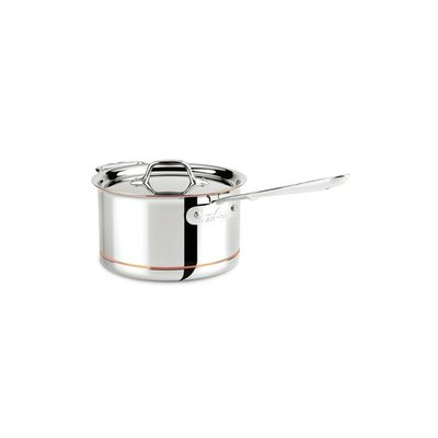 All-Clad All-Clad 4-Qt Copper Core Saucepan with Lid