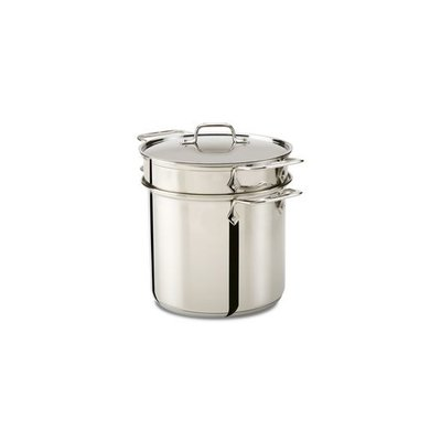 All-Clad All-Clad 8-Qt Stainless Steel Pasta Pot with Lid
