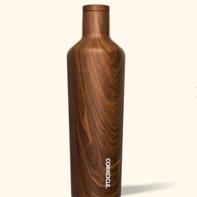 Corkcicle Canteen - 25oz Walnut 750ml