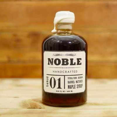 Noble Syrups Noble Tonic 1 (Tuthilltown Bourbon) Maple Syrup 450ml