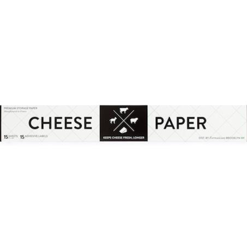 Formaticum Formaticum Cheese Paper - 15 sheets + labels