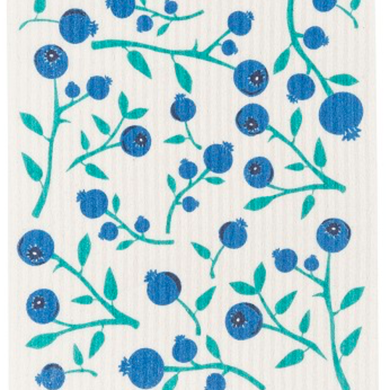 Danica/Now Designs Swedish Dish  Cloth Blueberries