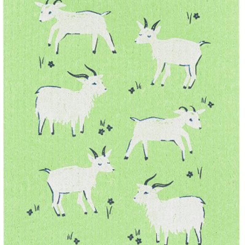 Danica/Now Designs Swedish Dish Cloth Goats