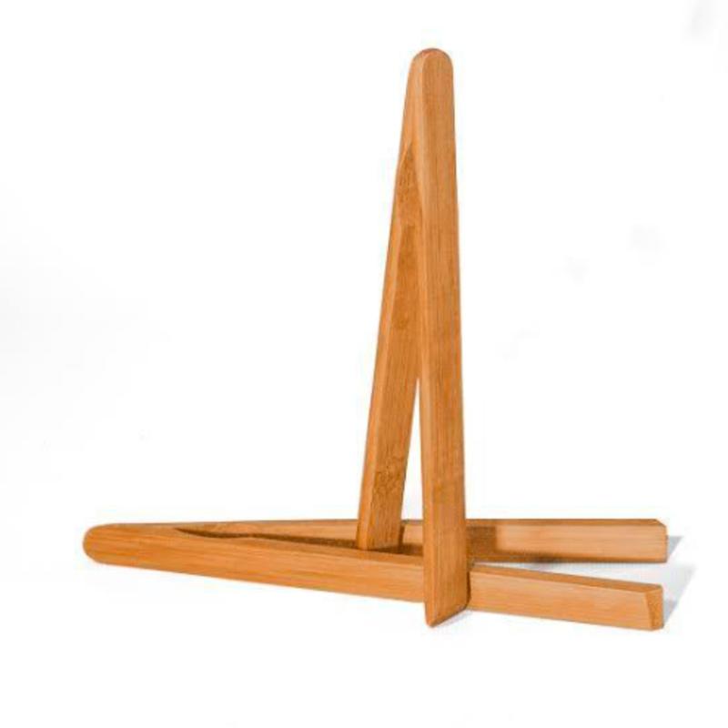 Danesco Bamboo Mini Tongs