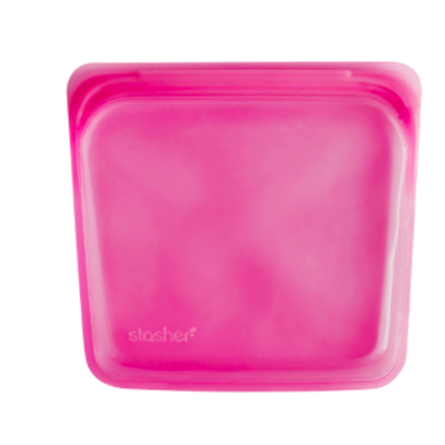 Stasher Stasher Reusable Storage - Raspberry