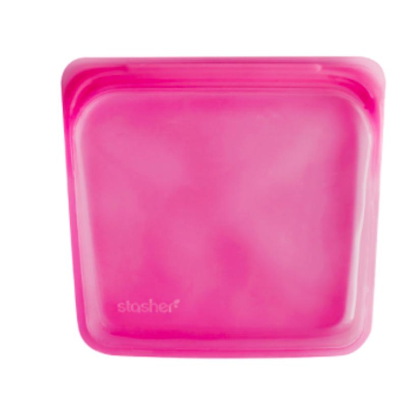 Stasher Stasher Reusable Storage - Raspberry