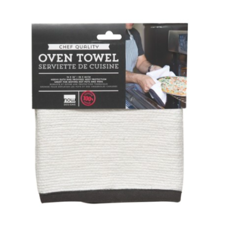 Danica/Now Designs Oven Towel - White