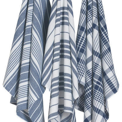 Danica/Now Designs Jumbo Towels - Indigo set of 3