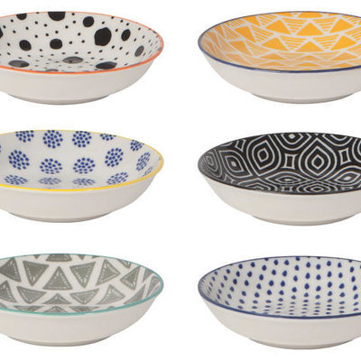 Danica/Now Designs Bits & Dots Pinch Bowls s/6