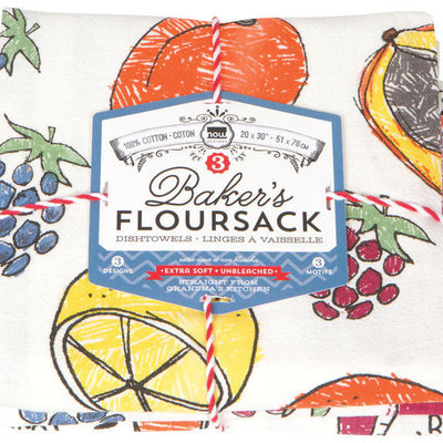 Danica/Now Designs Floursack - Let's Jam, set of 3