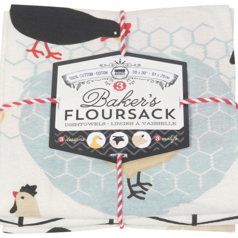 Danica/Now Designs Floursack - Farm, set of 3